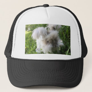 """Bradley"" English Angora Rabbit Trucker Hat"