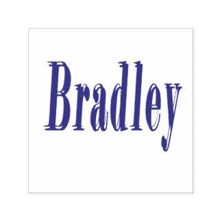 Bradley, Name  Logo, Self-inking Stamp