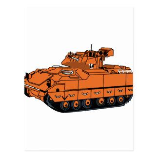 Bradley Tank Postcard