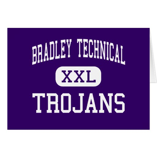 Bradley Technical - Trojans - High - Milwaukee Greeting Cards