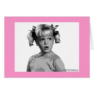 Brady Bunch Cindy Greeting Card