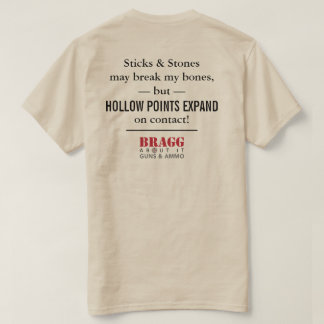 Bragg About It - Sticks & Stones T-Shirt