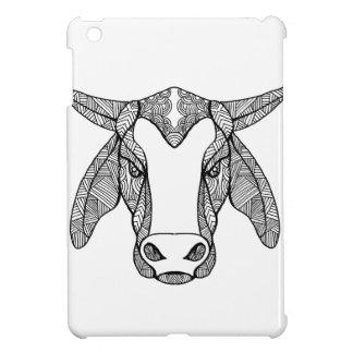 Brahma Bull Head Mandala iPad Mini Case