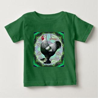 Brahma:  Fancy Dark Rooster Baby T-Shirt