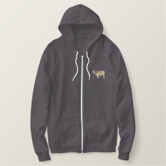 Brahman Bull Embroidered Hoodie