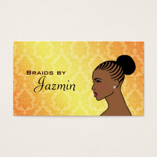 13 braider business cards and braider business card for Hair braiding business cards