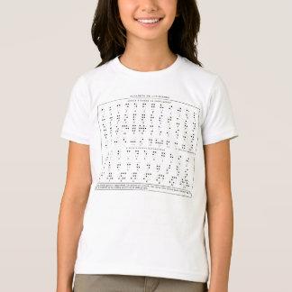 Braille Alphabet Kid's Shirt