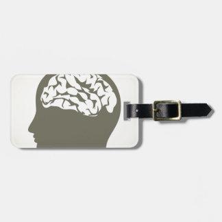 Brain5 Luggage Tag