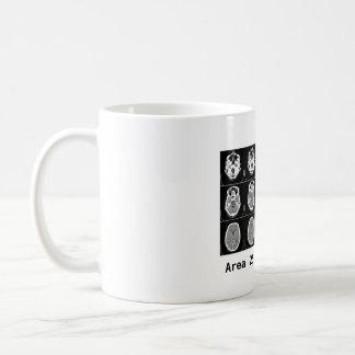 Brain: Area 25 made me do it. Coffee Mug
