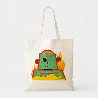 Brain Bot Tote Bag