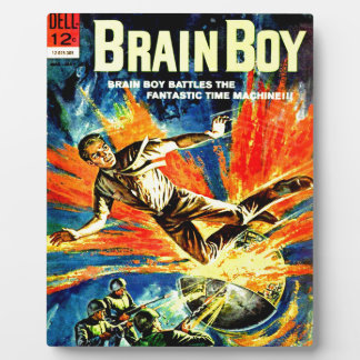 Brain Boy and the Time Machine Plaque