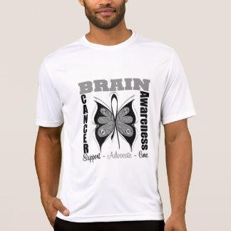 Brain Cancer Awareness Butterfly T-Shirt