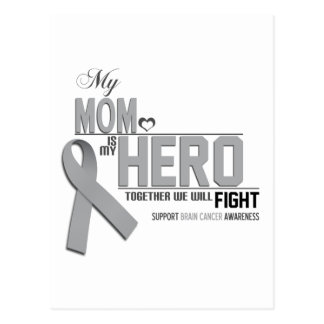 Brain Cancer Awareness: mom Postcard