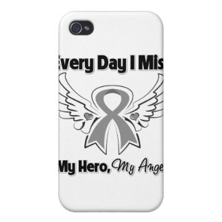 Brain Cancer Every Day I Miss My Hero iPhone 4 Covers