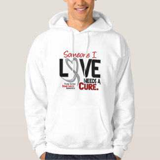 Brain Cancer NEEDS A CURE 2 Hoodie