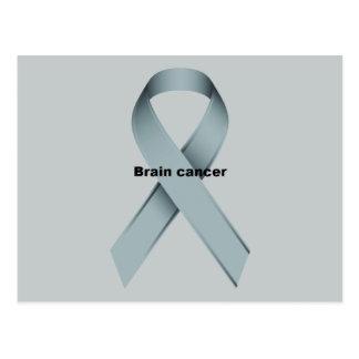 Brain cancer postcard