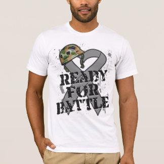 Brain Cancer Ready For Battle T-Shirt