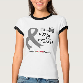 BRAIN CANCER SUPPORT For My Father Tshirt