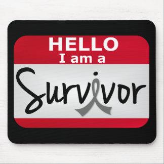 Brain Cancer Survivor 24.png Mouse Pad