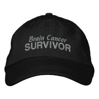 Brain Cancer Survivor Embroidered Hat