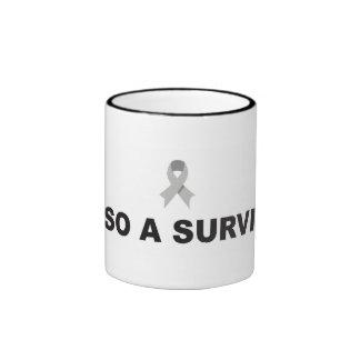 Brain Cancer Survivor Mug