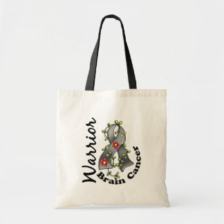 Brain Cancer Warrior 15 Budget Tote Bag