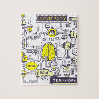Brain center jigsaw puzzle