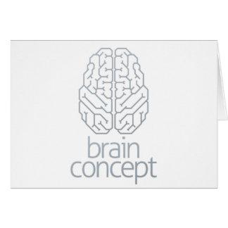 Brain Concept Top Card