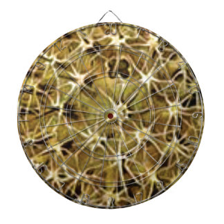 brain connections visualized dartboard