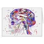 Brain cranial nerves, brain cranial nerves card