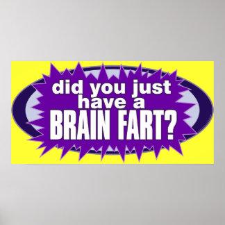 Brain Fart Poster