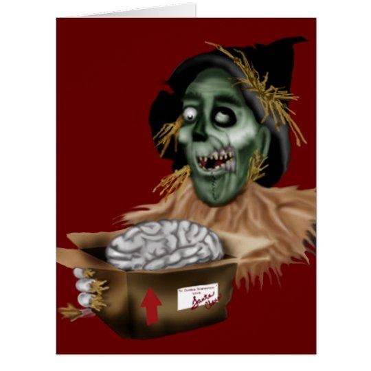 brain for christmas card