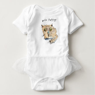 Brain freeze Kitten Baby Bodysuit