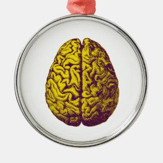 Brain Freeze Metal Ornament