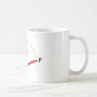 Brain fully fueled and ready for action coffee mug