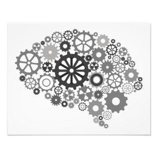 Brain Gears Photo Print