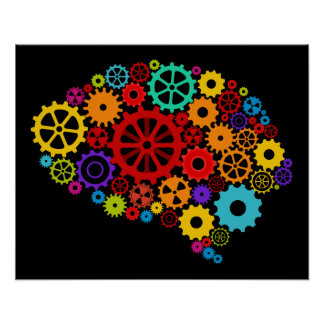 Brain Gears Poster