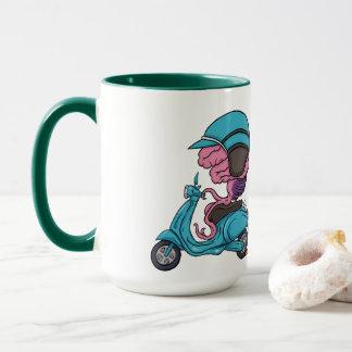 Brain & Helmet Mug