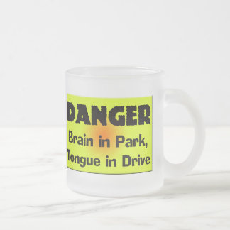 Brain In Park T-shirts Gifts Frosted Glass Mug