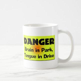 Brain In Park T-shirts Gifts Basic White Mug