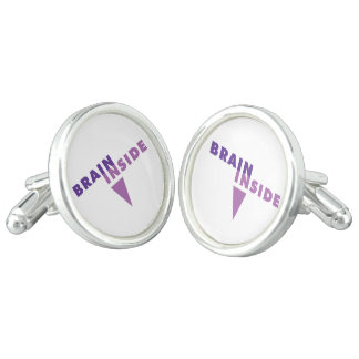 BRAIN INSIDE © brand collection Cuff Links