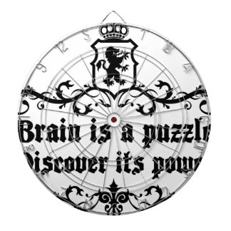 Brain Is A puzzle Discover Its Power Dartboard