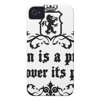 Brain Is A puzzle Discover Its Power iPhone 4 Case-Mate Cases