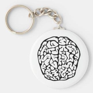 Brain Key Ring