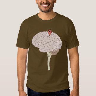 Brain Map Tag Tee Shirts