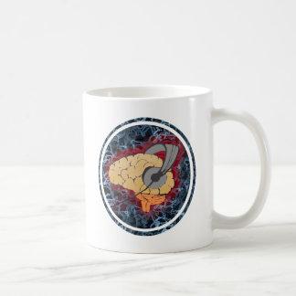 Brain music coffee mug