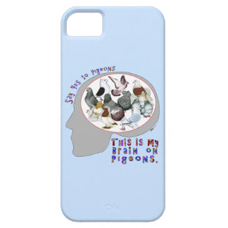 Brain On Pigeons iPhone 5 Cover