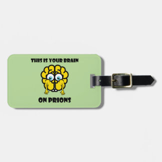 Brain on Prions Luggage Tag