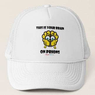 Brain on Prions Trucker Hat