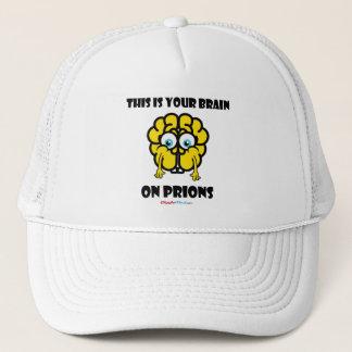 Brain on Prions Trucker Hat